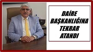 Oktay Şener Daire Başkanı oldu