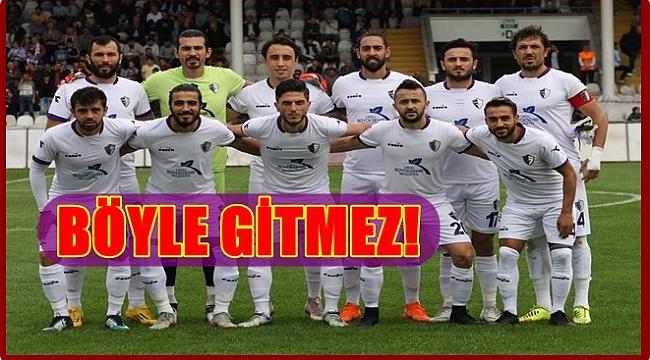 Yeni Orduspor 7 maçtır kazanamıyor