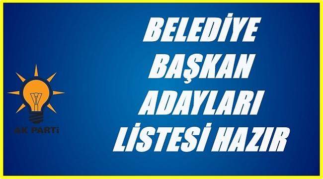 AK Parti'de liste hazır açıklanmayı bekliyor