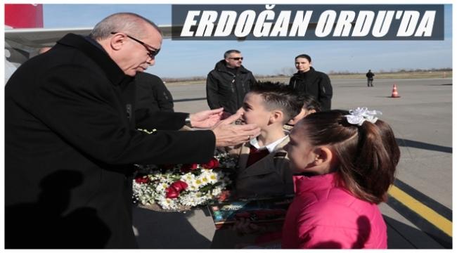 Erdoğan adayları açıklamak için Ordu'ya geliyor