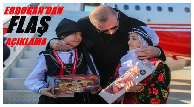 Erdoğan: Hesabi adayla yol yürümüyoruz