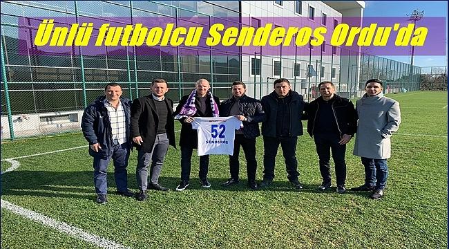 Şenocak ailesi Senderos'u misafir etti