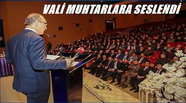 Vali Yavuz güvenlik ve uyuşturucuya dikkat çekti