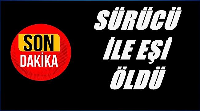 ZİNCİRLEME TRAFİK KAZASINDA 2 KİŞİ ÖLDÜ
