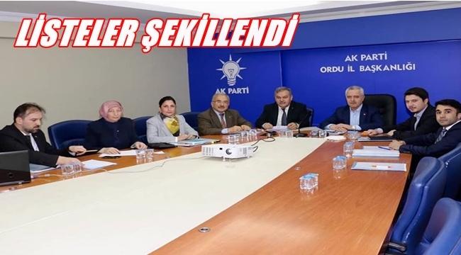 AK PARTİ'DE KİMLER BELEDİYE MECLİS ÜYESİ OLUYOR