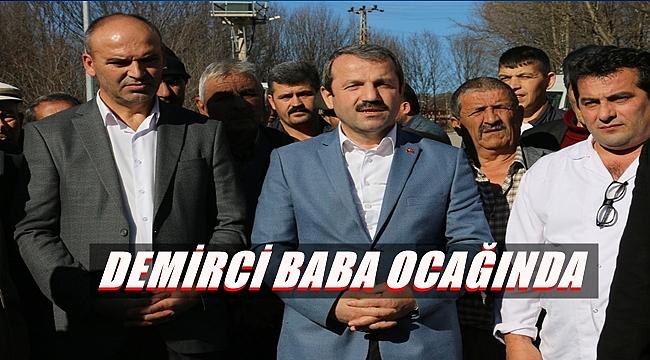 Başkan Demirci Kızılelma'da