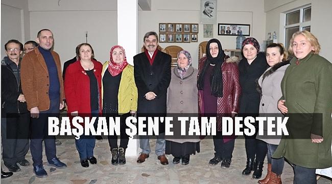 Başkan Şen: Taşlıçay'ın desteği bizimle