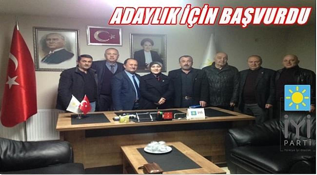 Mehmet Yılmaz İYİ Parti'nin adayı oluyor