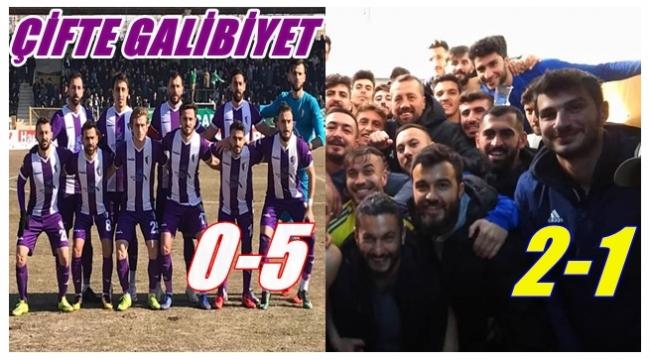 Yeni Orduspor ve Fatsa Belediyespor haftayı galibiyetle kapattı