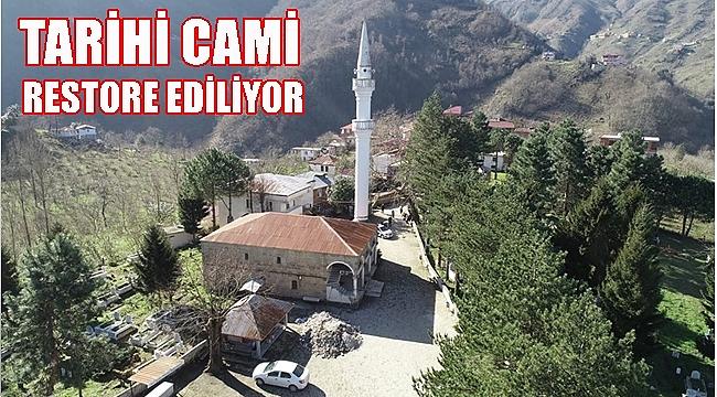 130 Yıllık Camide restorasyon çalışması başladı