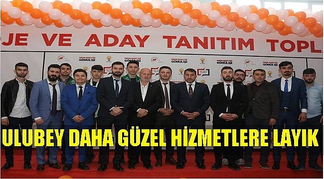 İsa Türkcan: Ulubey'de güzel işlere imza atacağız