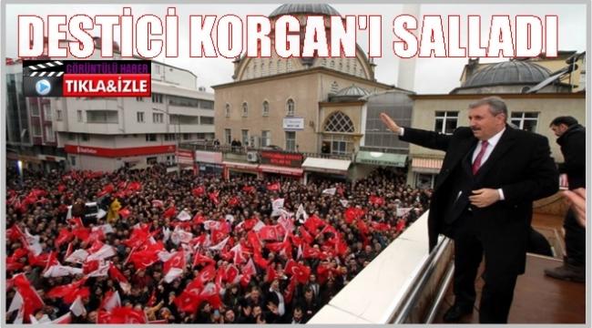 Mustafa Destici; Korgan'da 1 Nisan'da yeni dönem başlıyor