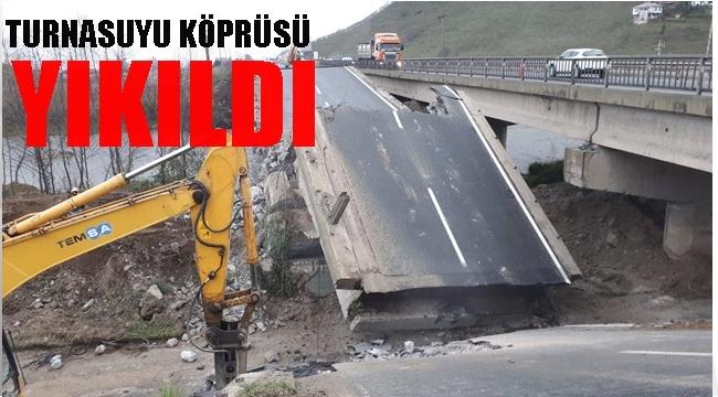 Yeni köprü 1.5 ay içerisinde tamamlanacak