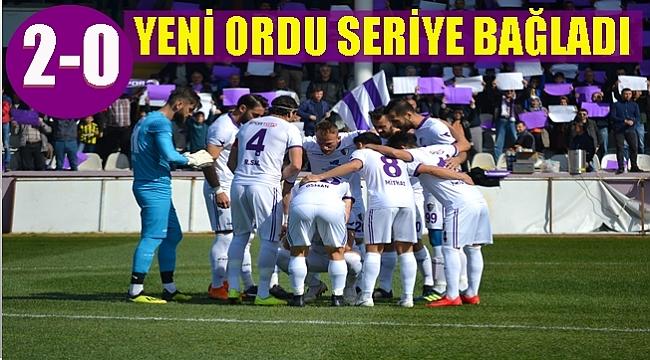 Yeni Orduspor Düzcespor'u Mehmet Fuat'la geçti ; 2-0