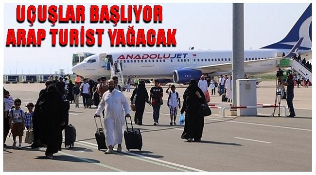 5 Bin Arap Turist Bekleniyor