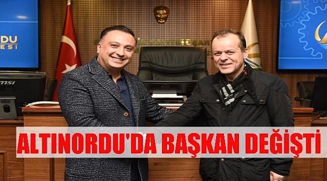 Altınordu Belediyespor'un Yeni Başkanı Fatih Sarı