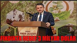 Bakan Pakdemirli: Fındıkta Türkiye borsunu öttürmeli