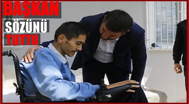 Başkan Türkcan Tolga'nın isteğini yerine getirdi