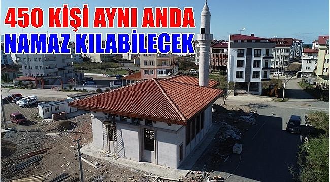 Hz. Bilal Camii'nin yapımı tamamlanıyor