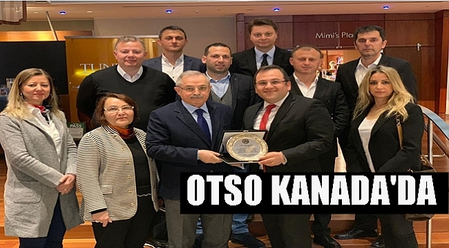 OTSO FINDIĞI TANITMAK İÇİN KANADA'DA