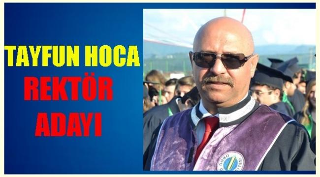 Prof. Dr. Tayfun Aşkın Rektör adayı oldu