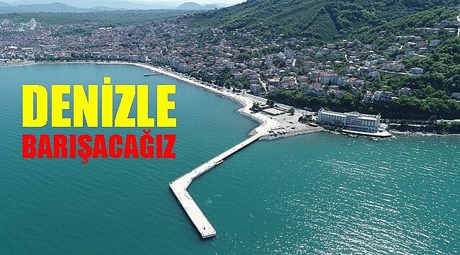 Başkan Güler: Deniz hayatımıza girmeli