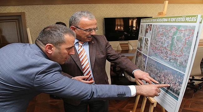 Başkan Güler: Tarihi doku korunacak
