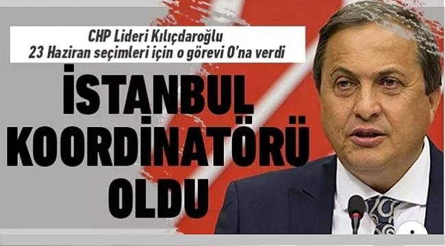 CHP'NİN İSTANBUL KOORDİNATÖRÜ TORUN OLDU