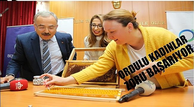 Kadınlara arı sütü eğitimi