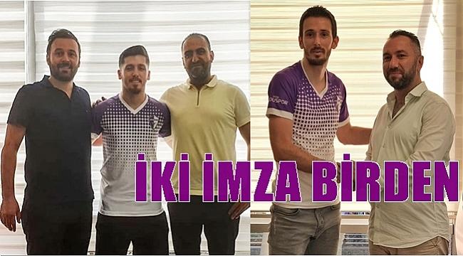 Aykut ve Mustafa Yeni Orduspor'da