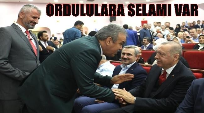 Erdoğan Ordulu İşadamının oğlunun düğününe katıldı