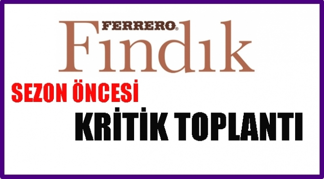 Ferrero Fındık Manavları İle Buluştu