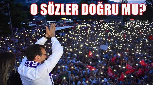 İmamoğlu VIP krizi;  Valilik açıklama yaptı