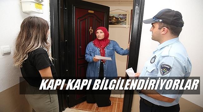 ALTINORDU EKİPLERİ SAHADA