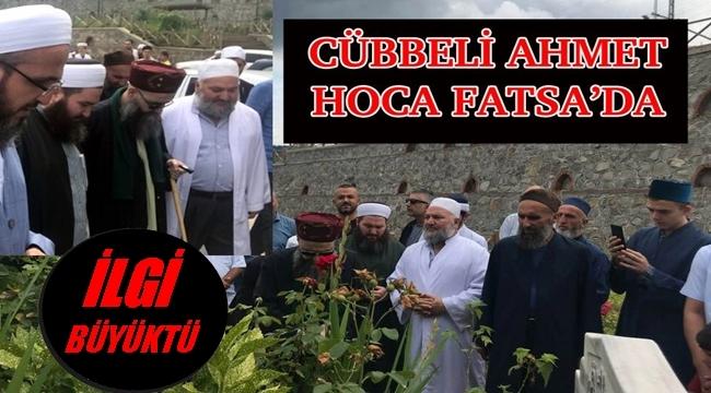 Cübbeli Ahmet Hoca'dan Ordu'ya sürpriz ziyaret