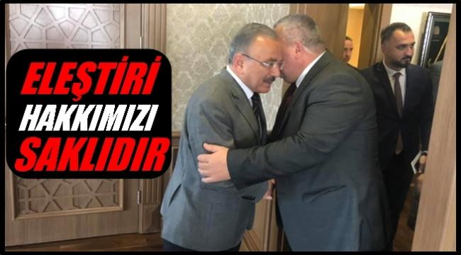 Enginyurt Güler'e destek verdi