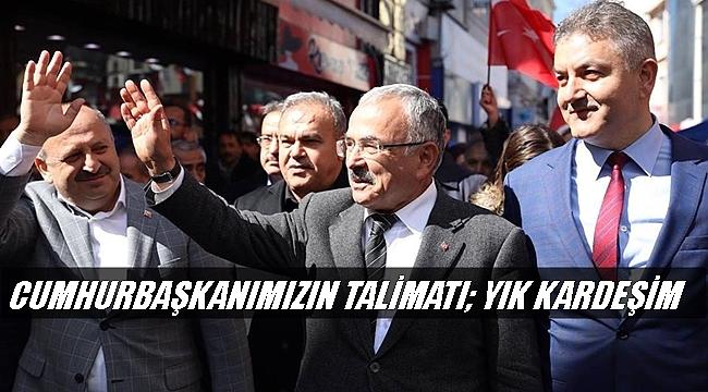 İl Başkanı Tomakin Belediye Başkanlarına Çağrıda Bulundu