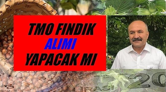 Milletvekili Usta Bakan Pakdemirli'ye fındığı sordu