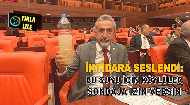 Mustafa Adıgüzel: Bu suyu içebiliyorsanız için