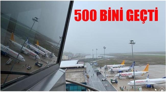 Ordu Giresun Havaliman'ında yolcu çok sefer az