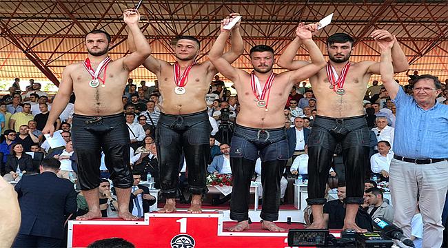 Ordulu Güreşciler Kırkpınar'da madalya aldı