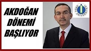 Akdoğan Pazartesi göreve başlıyor