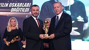 Altaş Tv yılın yerel kanalı ödülünü aldı