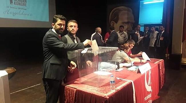 Altınordu İlçe Başkanı Serdar Karakaya oldu
