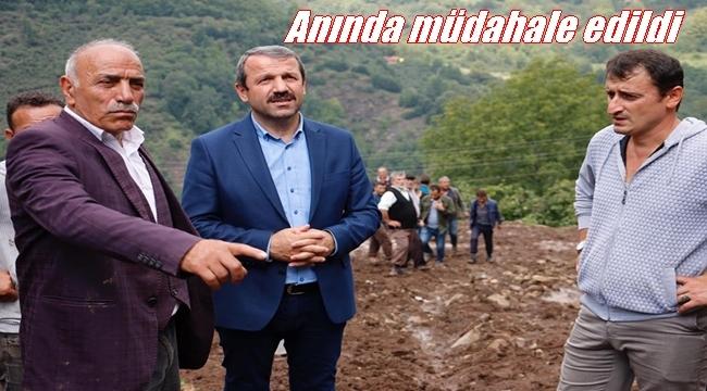 Başkan Demirci: Akkuş büyük bir felaket yaşadı