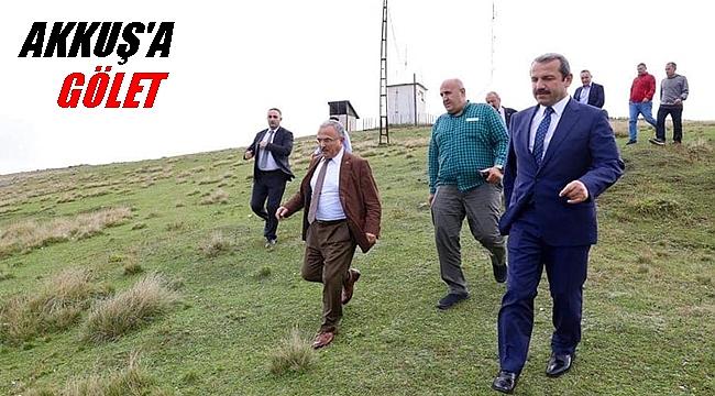 Başkan Güler: Argan Yaylası turizmde çekim merkezi olacak