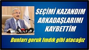 Başkan Güler:Bunları  goruk fındık gibi atacağız