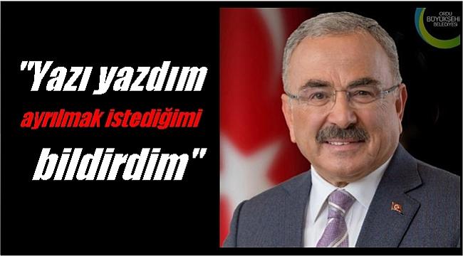 Başkan Güler'den flaş açıklama; Cevap bekliyorum