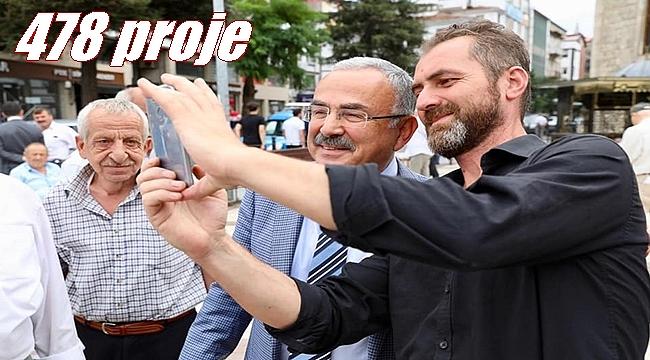 Başkan Güler: Projeleri tek tek sınıflandırıyoruz