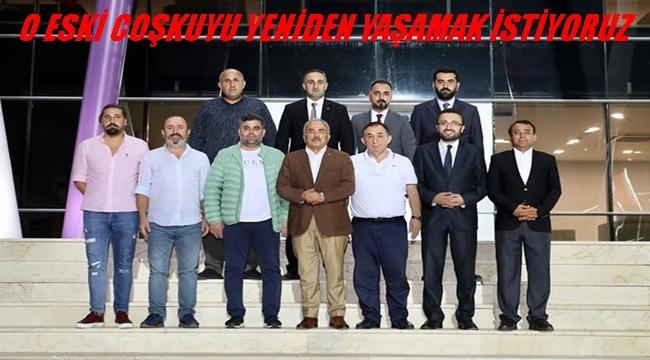 Başkan Güler Yeni Orduspor 'da